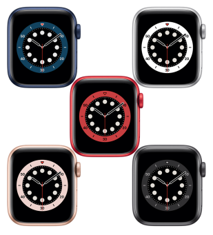 Apple Watch Series 6 Aluminiumgehäuse
