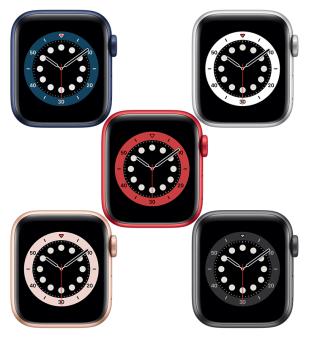 Apple Watch Series 6 Aluminiumgehäuse