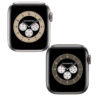 Apple Watch Series 6 Titangehäuse